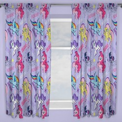 My Little Pony Character Ready Made Curtains 168cm x 183cm