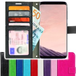 TOPPEN SLIM Samsung Galaxy S8 Wallet Case ID pocket, 4pcs Cards