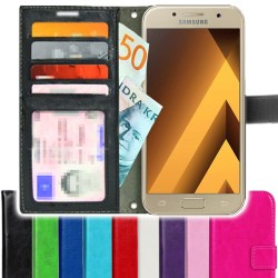 TOPPEN SLIM Samsung Galaxy A3 2017 Wallet Case ID pocket, 4pcs Cards