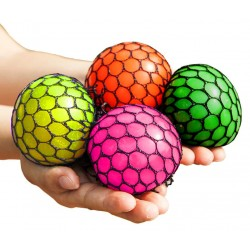 4-Pack Squishy Brain Ball Different Colors Slime Stress Playing Ball