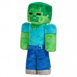 Minecraft Zombie Cool Plush Soft 32cm