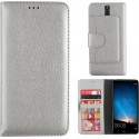 Colorfone Wallet Case for Huawei Mate 10 Lite SILVER