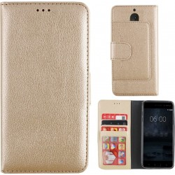 Colorfone Wallet Case for Nokia 5 GOLD