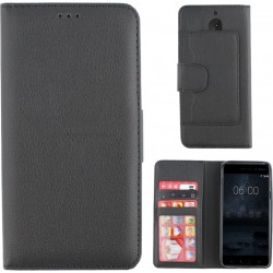 Colorfone Wallet Case for Nokia 5 BLACK