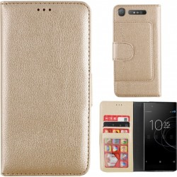 Colorfone Wallet Case for Sony Xperia XZ1 GOLD