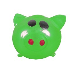 Sticky Pig Splat Ball Squeeze Toy Slime Stress Fun Prank GREEN