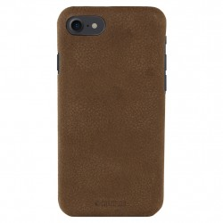 Champion Genuine Leather Case iPhone 7/8 Plus Coffee Brown