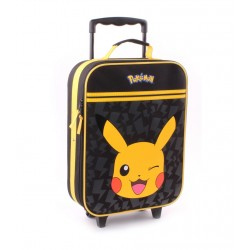 Pokemon Pikachu Stronger Trolley Travel Bag Backpack 46x34x14cm