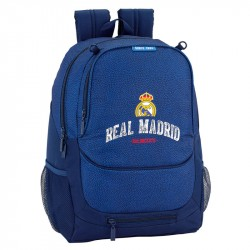 Real Madrid School Bag Backpack 44 x 32 x 16 cm