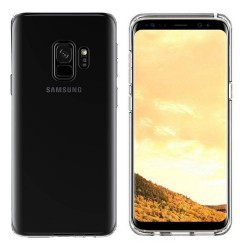 Colorfone Soft Exclusive TPU Cover Samsung Galaxy S9 + Transparent