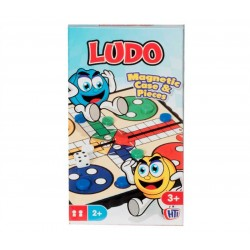 Traditional Compact Mini Travel Games Ludo Magnetic