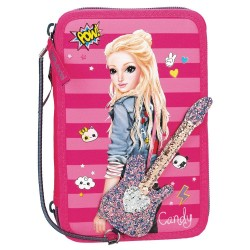 TOPModel POPstar 44-pieces Penaaleita Triple School Set Pencil Case