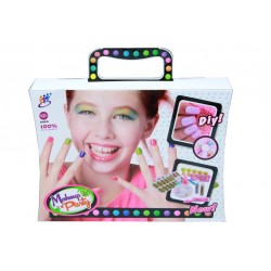 Nail Decoration Girls First Nail Art Set 12pcs in Carry Case