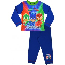 PJ Masks Pyjama Set Long Dark Blue Size: 18-24 months