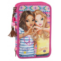 TOPModel Fergie ChrisPOPstar 44-pieces Penaaleita Triple School Set Pencil Case