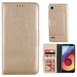 Colorfone Wallet Case for LG Q6 GOLD