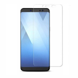 Samsung Galaxy A8+ (2018) Tempered Glass Screen Protector Retail Package