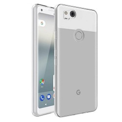 Google Pixel 2 Suojakuori 1.2mm Soft TPU Case Slim Cover Transparent