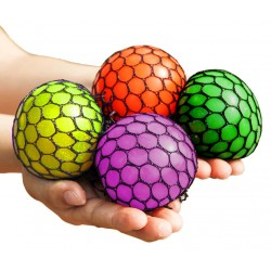 Squeeze Brain Ball Different Colors Slime Stress Playing Ball