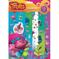 Trolls Sticker Fun Stickers Set Klistermärken Trolls Stickers FUN TROLLS 59,00 kr product_reduction_percent