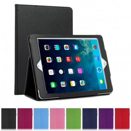 "Flip & Stand Fodral iPad 9.7"" (2017) iPad 9.7"" (2018) Smart Cover Sleep/Wake Up SVART GL 299,00 kr product_reduction_percent"