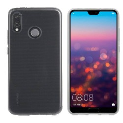 Huawei P20 Lite Suojakuori 1.2mm Soft TPU Case Slim Cover Transparent