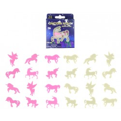 24-Pack Unicorn Självlysande Väggdekoration Takdekoration Enhörning Fluorescent Unicorn 24-Pack Henbrandt 59,00 kr product_r...