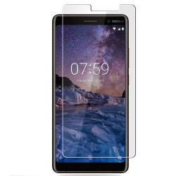 Nokia 7 Plus Tempered Glass Screen Protector Retail Package