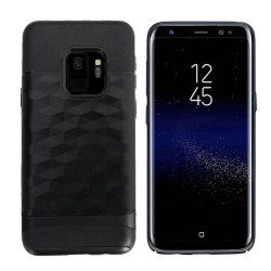 Colorfone Back Cover Samsung Galaxy S9+ Armour Case Black
