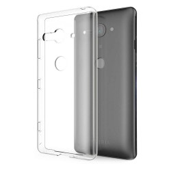 Sony Xperia XZ2 Compact Suojakuori 1.2mm Soft TPU Case Slim Cover Transparent