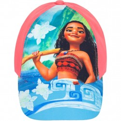 Disney Vaiana Moana Cap Orange / Pink Størrelse 52