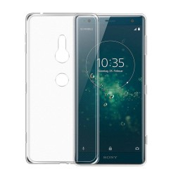 Sony Xperia XZ2 Suojakuori 1.2mm Soft TPU Case Slim Cover Transparent