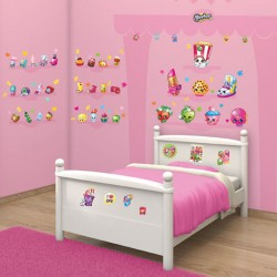 Shopkins Room Decor Kit Wall Stickers 86pcs For Kids