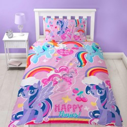 My Little Pony Unicorn Crush Covered Bed 135x200 + 48 x 74cm
