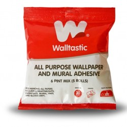 Waltastic Wallpaper Glue Adhhesive for Wall Decals with motif