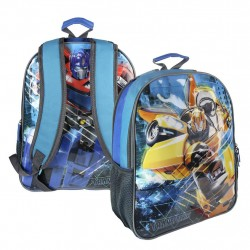 Reversible 2i1 Transformers Backpack Reppu Laukku 41x31x13 cm