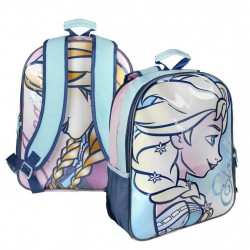 Reversible 2i1 Backpack Disney Frozen Anna Elsa 41x31x13 cm
