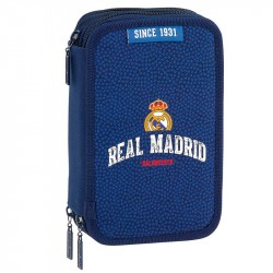 Real Madrid 41-pieces Triple School Set Pencil Case