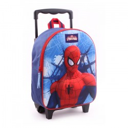 Spiderman Mini Trolley 3D Backpack Travel Bag 31x25x12 cm