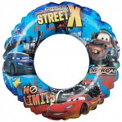Disney Cars StreetX Swimming Swim Ring Inflatable 3-6 Years