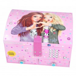 TOPModel Big Jewellery Box With Code And Sound Lexy Och Nadja Pink