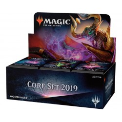 Magic The Gathering: Core Set 2019 Booster Box 36-Pack. Kort 36-PACK BOX CORE SET 2019. Magic The Gathering 1,595.00