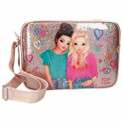 TOP Model Friends Miju And Candy Shoulder Bag Skoletaske Pink