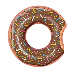 Giant Simring Swim Ring Munk Donut Brown 107cm