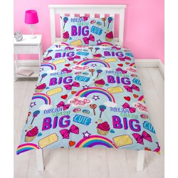 JoJo Siwa Dreams Bed linen 135x200 + 48x74cm