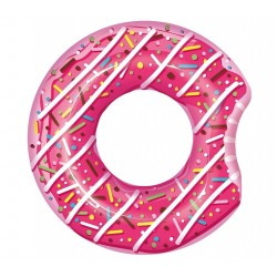 """Giant Candy Sprinkle Glazed Donut Water Tube Toy 107cm,42"""" PINK"""