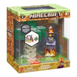 Minecraft Birch Forest Biome Playset Action Figur Sæt serie 4