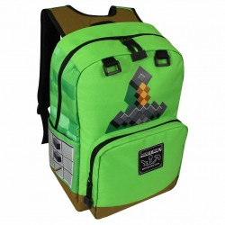 Minecraft Sword Adventure Backpack Skoletaske 44x31x14cm