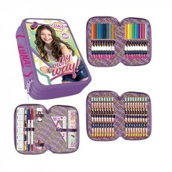 Disney Soy Luna My Own Way Triple school set, 43-pieces B-Sorting