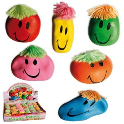 Stressboll Smiley Anti-Stress Funny Face Klämboll 1st RANDOM COLOR Out Of The Blue 69,00 kr product_reduction_percent